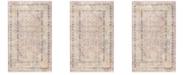 Safavieh Illusion Rose and Light Gray 3' x 5' Area Rug