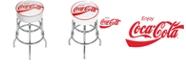 Trademark Global Enjoy Coke Pub Stool