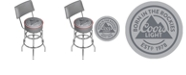 Trademark Global Coors Light Swivel Bar Stool with Back