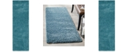 "Safavieh California Turquoise 2'3"" x 7' Runner Area Rug"