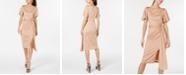 Rachel Zoe Shimmer Cutout O-Ring Dress