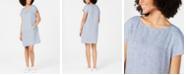 Eileen Fisher Organic Linen T-Shirt Dress
