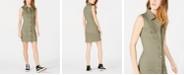 T.D.C. Topson Sleeveless Button-Front Shirtdress