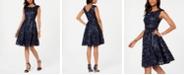 Alex Evenings Petite Sleeveless Embroidered Dress