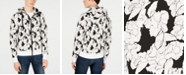 Michael Kors Men's Floral Graphic Hoodie, Created for Macy's