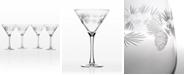 Rolf Glass Icy Pine Martini 10Oz - Set Of 4 Glasses