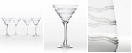 Rolf Glass Good Vibrations Martini 10Oz - Set Of 4 Glasses