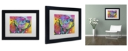 """Trademark Global Dean Russo 'Psychedelic Lab' Matted Framed Art - 11"""" x 14"""" x 0.5"""""""