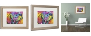 """Trademark Global Dean Russo 'Psychedelic Lab' Matted Framed Art - 20"""" x 16"""" x 0.5"""""""