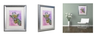 "Trademark Global Dean Russo 'Giraffe' Matted Framed Art - 20"" x 16"" x 0.5"""