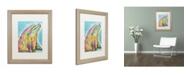 "Trademark Global Dean Russo 'Dolphin' Matted Framed Art - 20"" x 16"" x 0.5"""