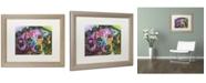 """Trademark Global Dean Russo '14' Matted Framed Art - 20"""" x 16"""" x 0.5"""""""