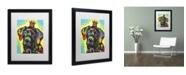 """Trademark Global Dean Russo '21' Matted Framed Art - 16"""" x 20"""" x 0.5"""""""