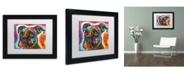 """Trademark Global Dean Russo '29' Matted Framed Art - 11"""" x 14"""" x 0.5"""""""