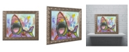 "Trademark Global Dean Russo 'Shark 1' Ornate Framed Art - 20"" x 16"" x 0.5"""