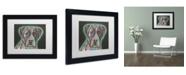 "Trademark Global Dean Russo 'Love Thy Boxer' Matted Framed Art - 11"" x 14"" x 0.5"""