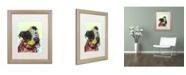 """Trademark Global Dean Russo 'Pure Joy' Matted Framed Art - 20"""" x 16"""" x 0.5"""""""