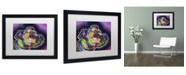 "Trademark Global Dean Russo 'Soul' Matted Framed Art - 16"" x 20"" x 0.5"""