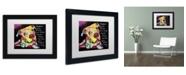 """Trademark Global Dean Russo 'Firu' Matted Framed Art - 11"""" x 14"""" x 0.5"""""""
