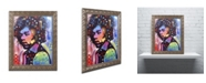 "Trademark Global Dean Russo 'Jimi Hendrix IV' Ornate Framed Art - 20"" x 16"" x 0.5"""