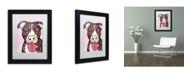 """Trademark Global Dean Russo 'Bliss' Matted Framed Art - 11"""" x 14"""" x 0.5"""""""