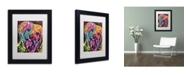 """Trademark Global Dean Russo 'York II' Matted Framed Art - 11"""" x 14"""" x 0.5"""""""