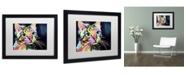 "Trademark Global Dean Russo 'Catillac New' Matted Framed Art - 16"" x 20"" x 0.5"""