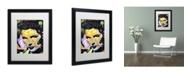 "Trademark Global Dean Russo 'Katherine Hepburn' Matted Framed Art - 16"" x 20"" x 0.5"""