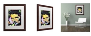 "Trademark Global Dean Russo 'Katherine Hepburn' Matted Framed Art - 20"" x 16"" x 0.5"""