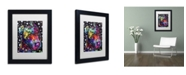 """Trademark Global Dean Russo 'Companion PIT' Matted Framed Art - 11"""" x 14"""" x 0.5"""""""