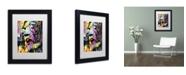"""Trademark Global Dean Russo 'John Lennon' Matted Framed Art - 11"""" x 14"""" x 0.5"""""""