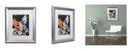 "Trademark Global Dean Russo 'Scottish Terrier' Matted Framed Art - 20"" x 16"" x 0.5"""