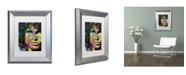 """Trademark Global Dean Russo 'Jim' Matted Framed Art - 14"""" x 11"""" x 0.5"""""""