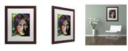 "Trademark Global Dean Russo 'Lennon Front' Matted Framed Art - 20"" x 16"" x 0.5"""