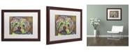 "Trademark Global Dean Russo 'Amy' Matted Framed Art - 20"" x 16"" x 0.5"""