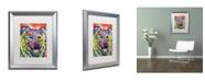 """Trademark Global Dean Russo 'Leo' Matted Framed Art - 20"""" x 16"""" x 0.5"""""""
