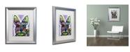 """Trademark Global Dean Russo 'Stella' Matted Framed Art - 20"""" x 16"""" x 0.5"""""""