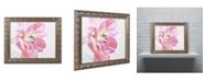 "Trademark Global Cora Niele 'Cerise Tulip' Ornate Framed Art - 14"" x 11"" x 0.5"""