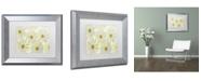 "Trademark Global Cora Niele 'Daisy Flowers' Matted Framed Art - 14"" x 11"" x 0.5"""
