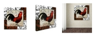 "Trademark Global Color Bakery 'Europa II' Canvas Art - 24"" x 2"" x 24"""