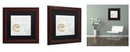 "Trademark Global Color Bakery 'She Sells Seashells I' Matted Framed Art - 11"" x 0.5"" x 11"""