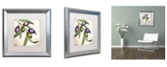 "Trademark Global Color Bakery 'Olive Branch I' Matted Framed Art - 16"" x 0.5"" x 16"""