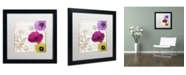 "Trademark Global Color Bakery 'Love Notes I' Matted Framed Art - 16"" x 16"" x 0.5"""