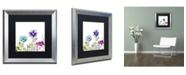 "Trademark Global Color Bakery 'Avril II' Matted Framed Art - 16"" x 0.5"" x 16"""