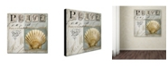 "Trademark Global Color Bakery 'Beach Book I' Canvas Art - 35"" x 2"" x 35"""