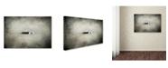 "Trademark Global Jai Johnson 'Red Door Farmhouse' Canvas Art - 24"" x 16"" x 2"""