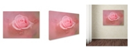 "Trademark Global Jai Johnson 'Pink Rose After The Storm' Canvas Art - 24"" x 18"" x 2"""