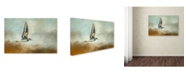 "Trademark Global Jai Johnson 'Flight Of The Killdeer' Canvas Art - 47"" x 30"" x 2"""