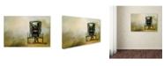 "Trademark Global Jai Johnson 'Amish Wagon' Canvas Art - 19"" x 12"" x 2"""