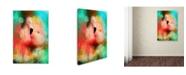 "Trademark Global Jai Johnson 'Colorful Expressions Flamingo' Canvas Art - 24"" x 16"" x 2"""